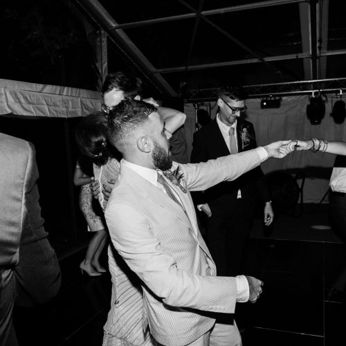 english marquee wedding dancing