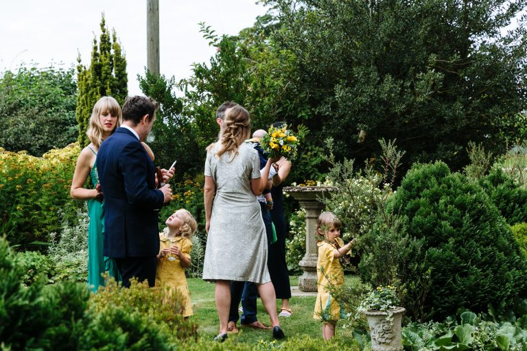 english garden wedding documentary