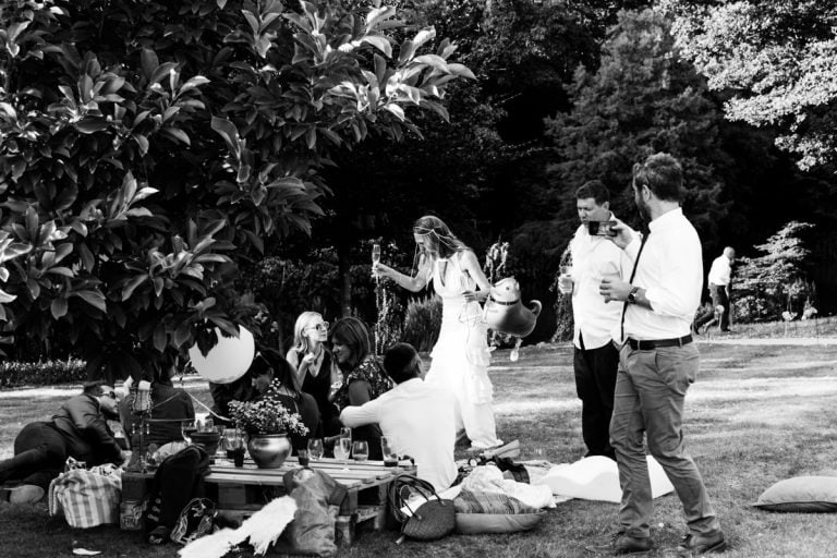 dorking garden wedding photography