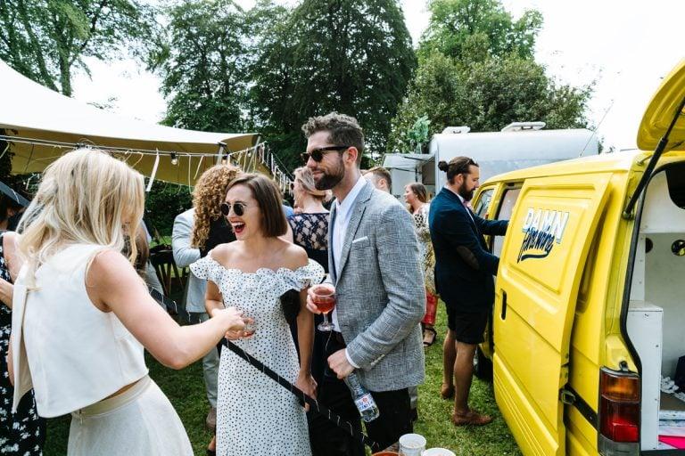 the wine truck wedding