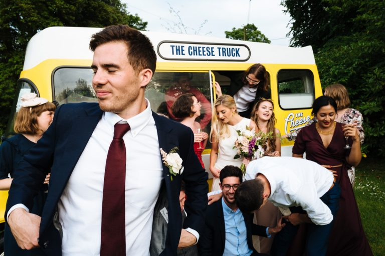 the cheese truck wedding
