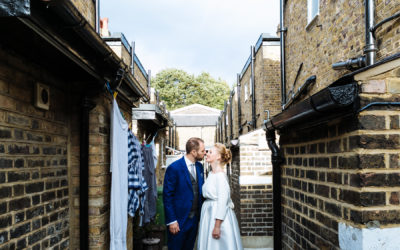 Relaxed Urban Wedding Peckham and East Dulwich
