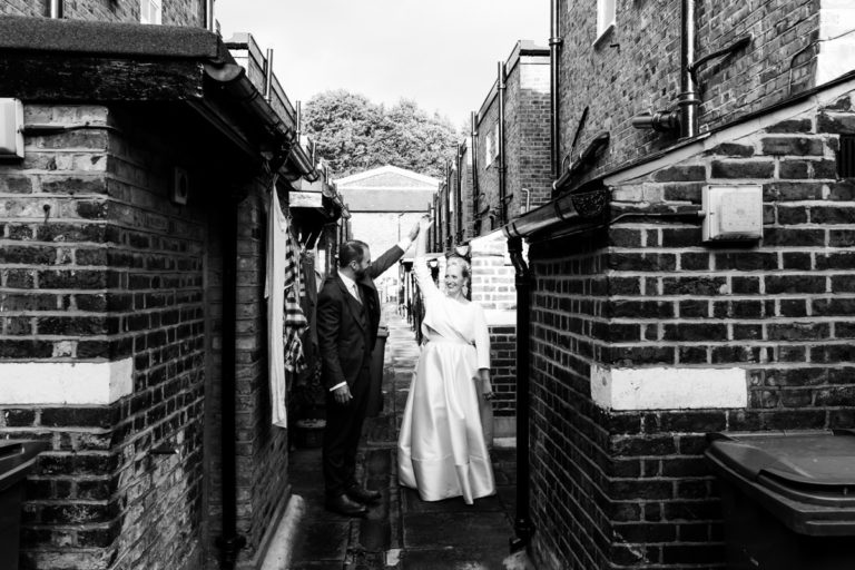 wedding at the asylum peckham