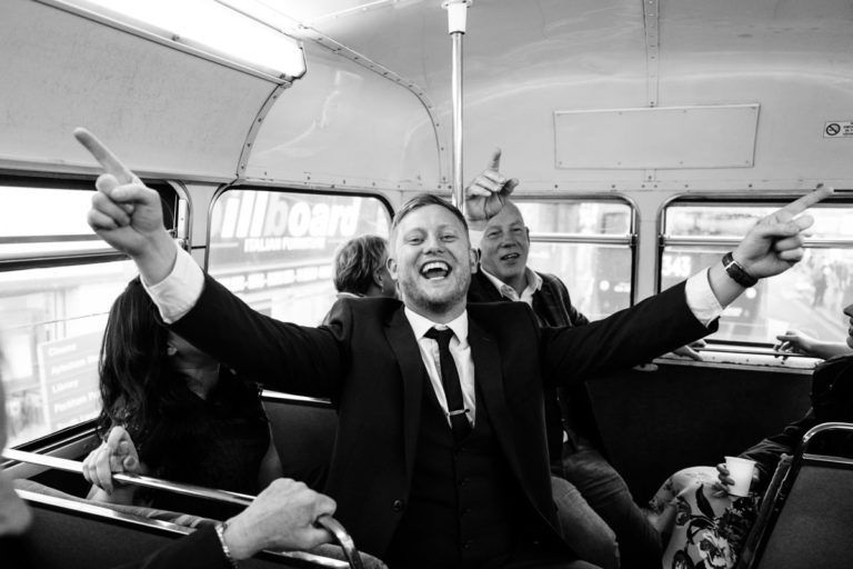 fun london wedding