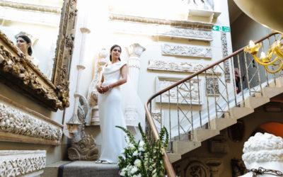 Vogue Wedding Aynhoe Park