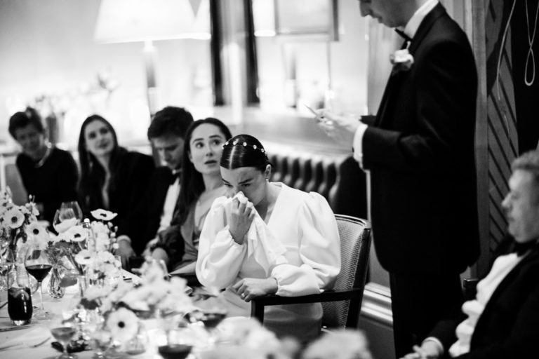 wedding speeches claridges hotel london