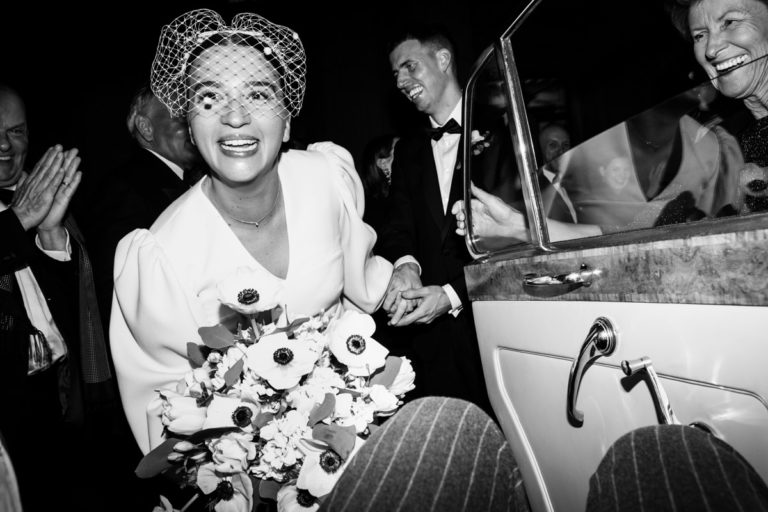 classic modern wedding photography london claridges