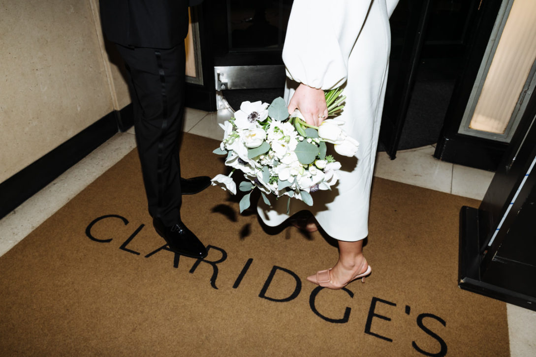 claridges hotel wedding photography
