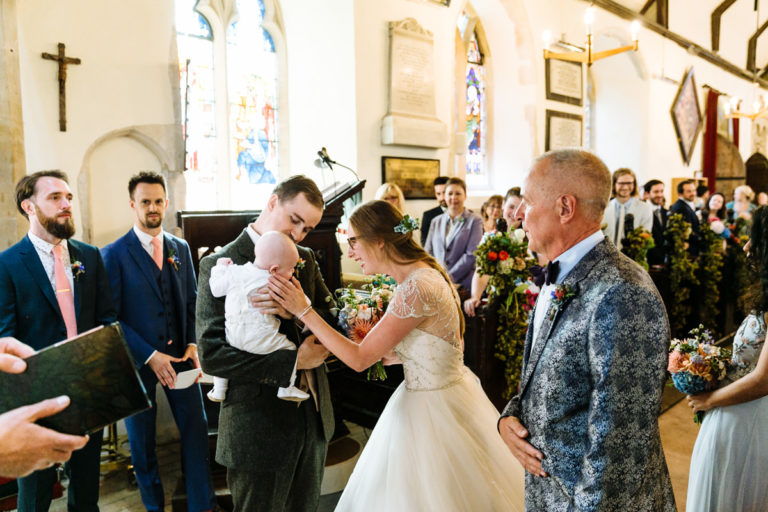 wonderfully eccentric English wedding