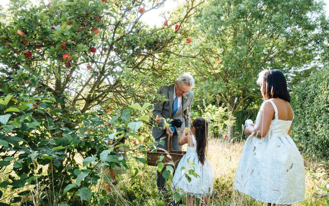 Wonderfully Eccentric English Country Wedding